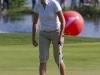 24/05/2009 Ladies European Tour 2009, HypoVereinbank Ladies German Open, 21-25 May, Golfpark Gut Hausern, Bayern Germany. Jade Schaeffer of France celebrates holing the winning putt. Credit: Tristan Jones
