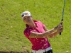 s01/07/2007 Ladies European Tour 2007, Ladies Open de Portugal / Gramacho Golf Course, Algarve, Portugal/ 29 June - 01 July 2007 / Jade Schaeffer of France plays out of a bunker on the par 3 4th hole during the third and final round. Credit: Tristan Jones/LET